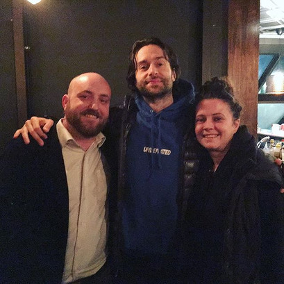 Really cool of _chrisdelia and _michaell
