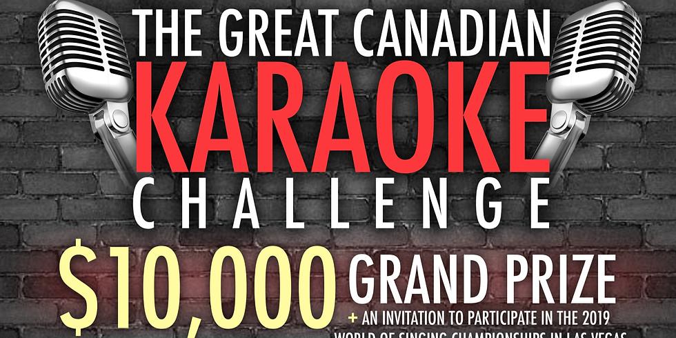 Canadian Karaoke Challenge WEEK 2