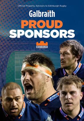 Galbraith Edinburgh Rugby advert