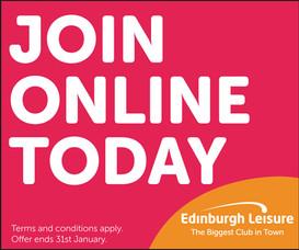 Edinburgh leisure digital advertising