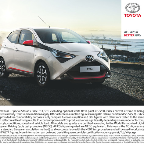 Struans Toyota advertising