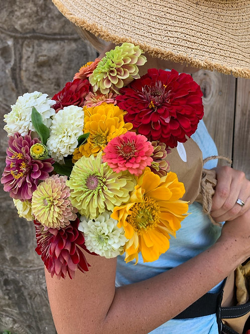 Zinnia Bunch - Pick Up Friday 9/24 in Weatherford or Benbrook