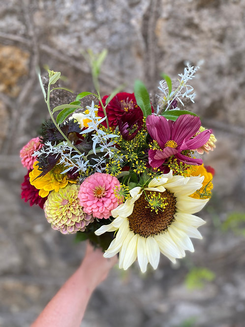 Farmer's Choice Bouquet - Pick Up Friday, 9/24 in Weatherford or Benbrook