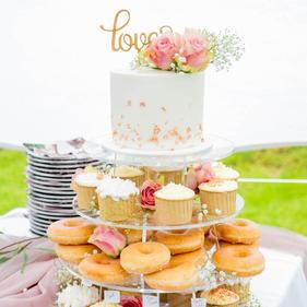 Cupcake & Doughnut Tower