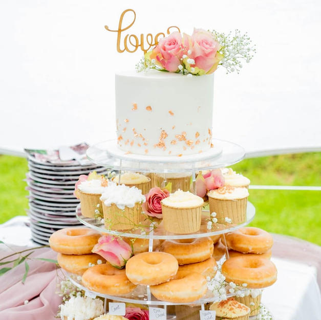 Cupcake & Doughnut Tower