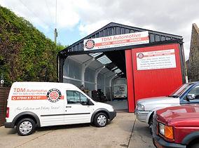 TDM Automotive Car Garage Entrance