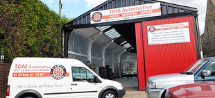 TDM Automotive Car Garage Entrance