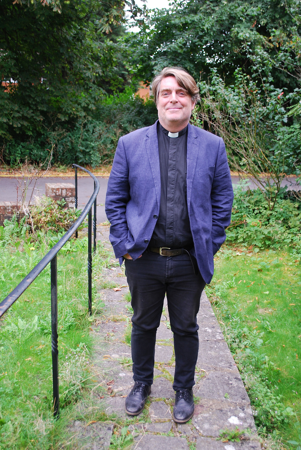 Rev'd Ben Brown, the next Rector of the benfice of Lewes St Anne, St Michael and St Thomas at Cliffe with All Saints