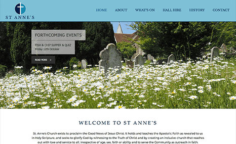 St Annes, Lewes Website for local parish Church in Lewes, East Sus...