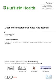 Total Knee Replacment Patient Information