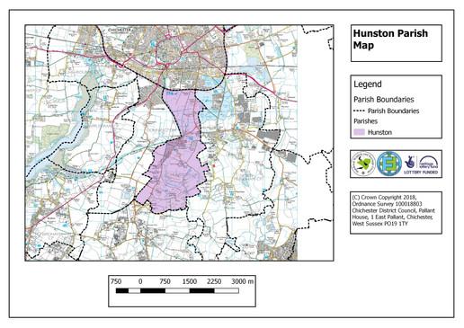 Hunston Parish Map