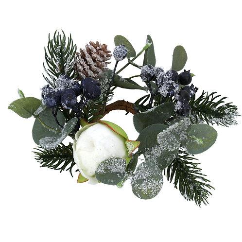 Eucalyptus/Fir/Blueberry Candle Ring