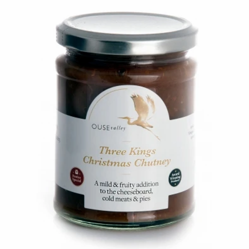 Three Kings Christmas Chutney from Ouse Valley Foods