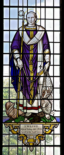 Chichester Cathedral St Wilfrid Window (