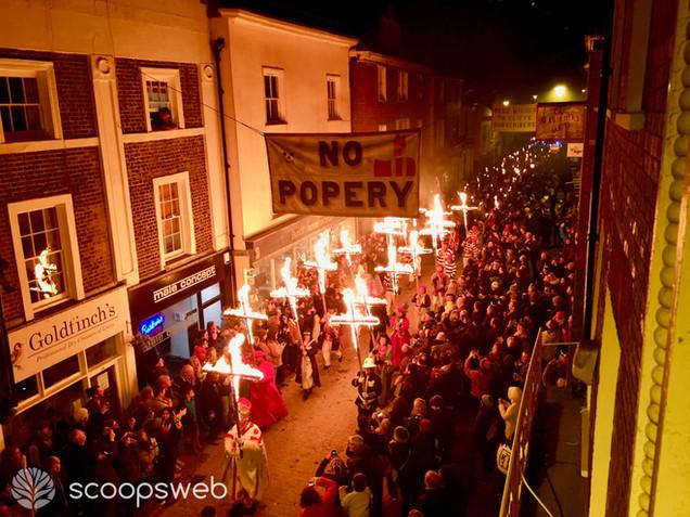 Bonfire night, Lewes