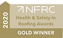 The National Federation of Roofing Contractors Gold Award for Health & Safety 2020