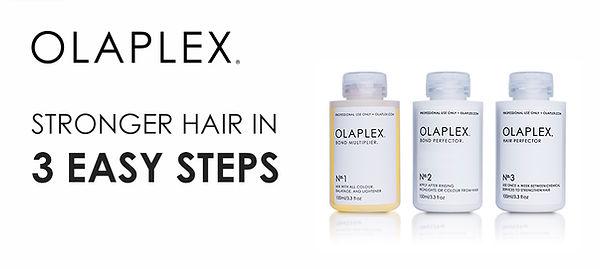 Stronger Hair in 3 Easy Steps with Olaplex