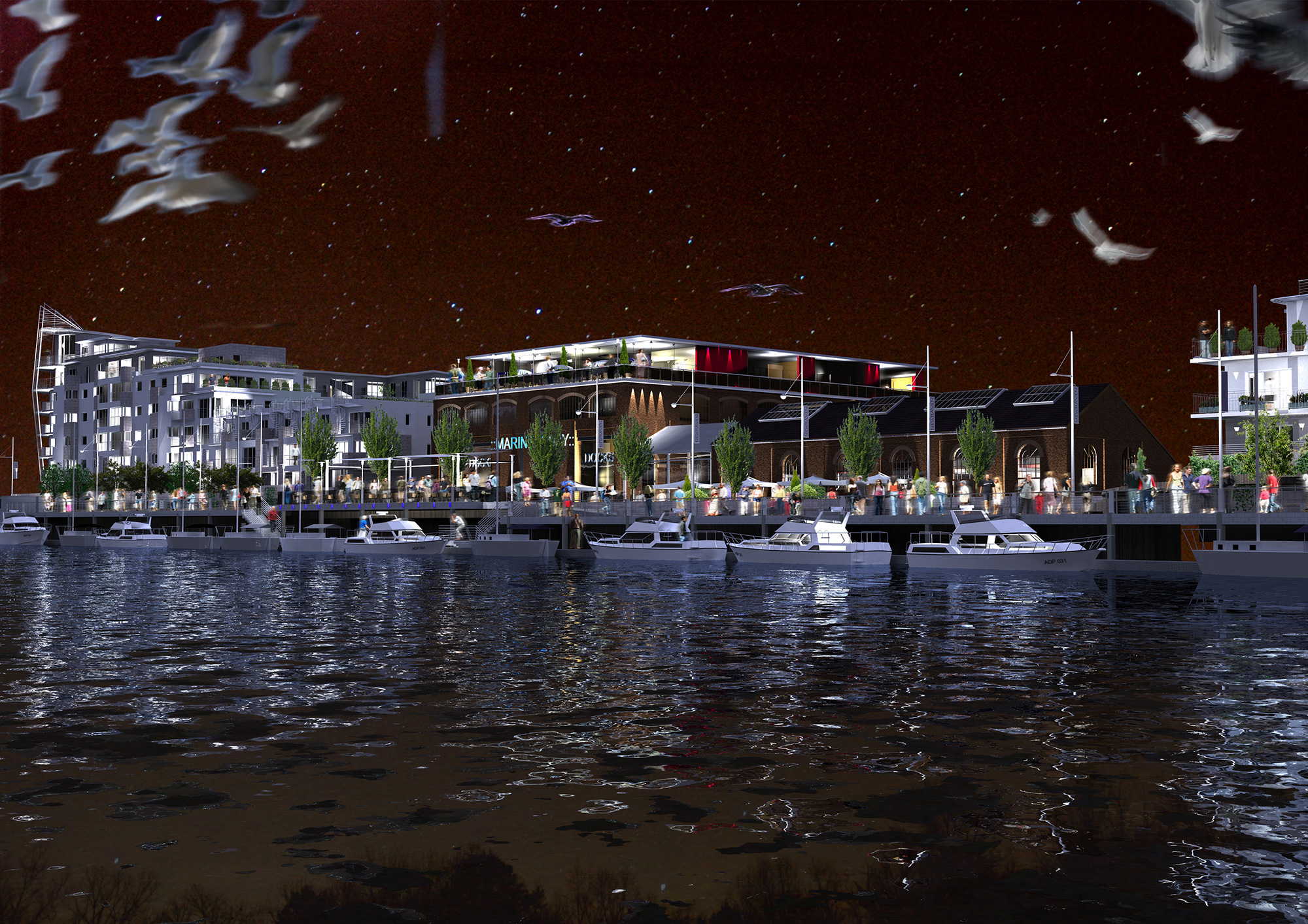 Newhaven Quay