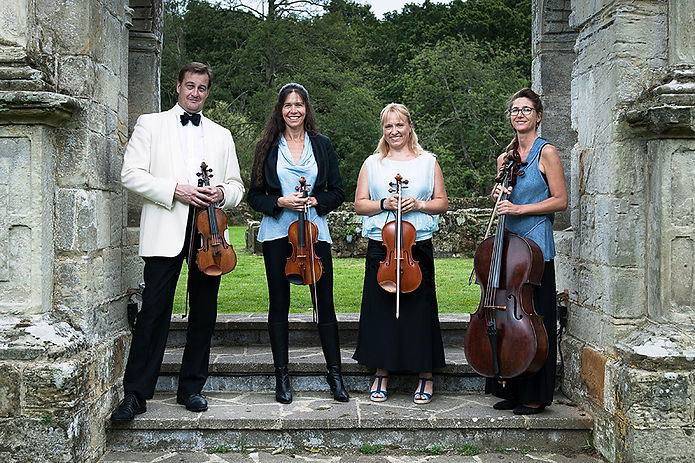 Sussex String Quartet perfom at Villages Music Festival 2018