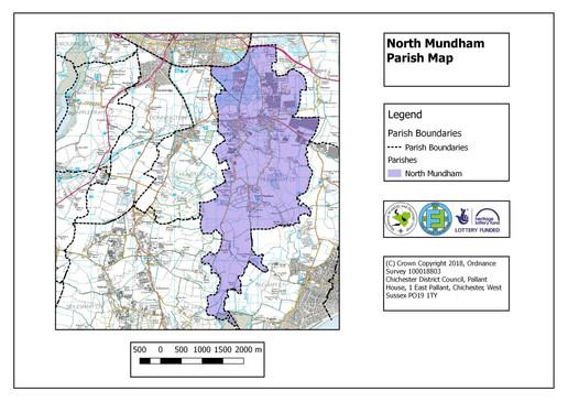 North Mundham Parish Map