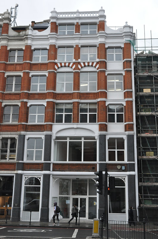 Celltarga External Refurbishment - 130 City Road