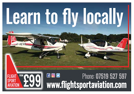 Flight Sport Aviation - supporting the 2021 Villages Music Festival