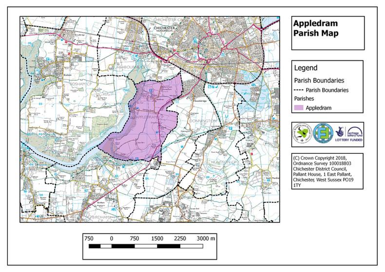 Appledram Parish Map