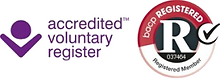 BACP registered - accredited voluntary register