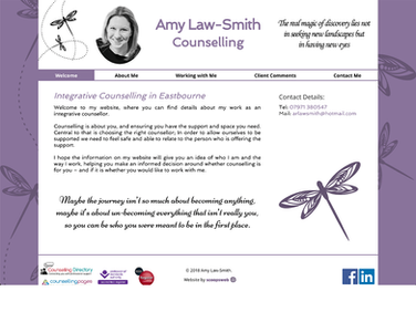 Amy Law-Smith, Counsellor