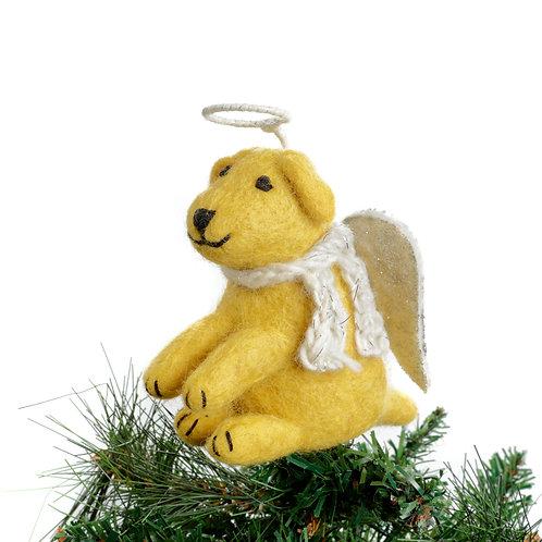 Golden Labrador Tree Topper