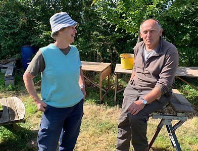 Owen's Farm Therapies - Owena and Ivan