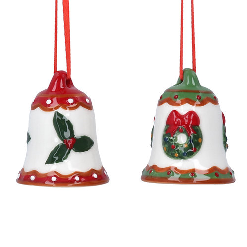 Ceramic Christmas Bell