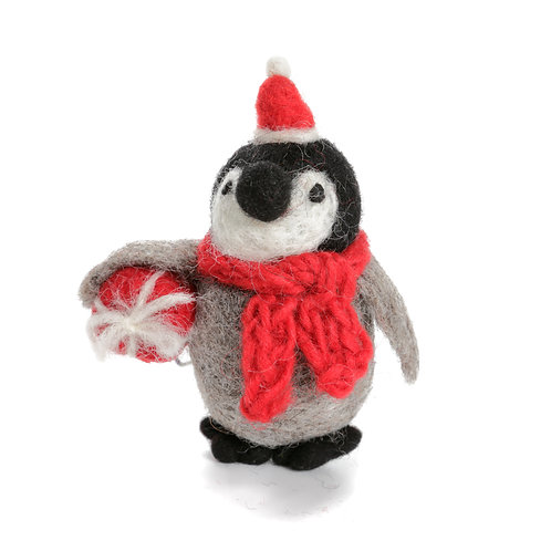 Baby Penguin with Present