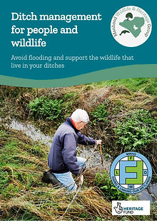 Ditch Management for People and Wildlife