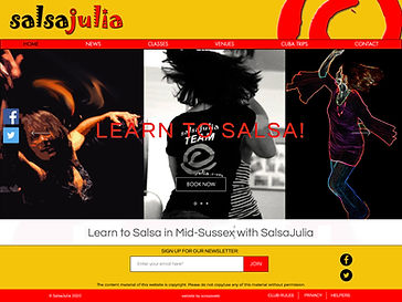 SalsaJulia provides salsa lessons, courses, workshops and parties for all levels of salsa dancer in