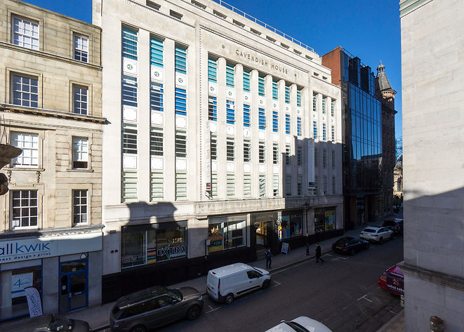Cavendish House in Birmingham, refurbished 2,775 sq ft office to let by Croudace Properties