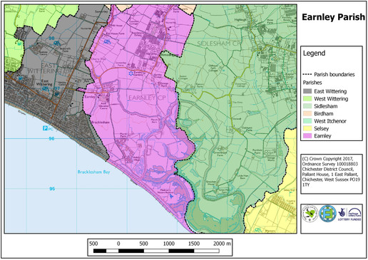 Earnley Parish Map