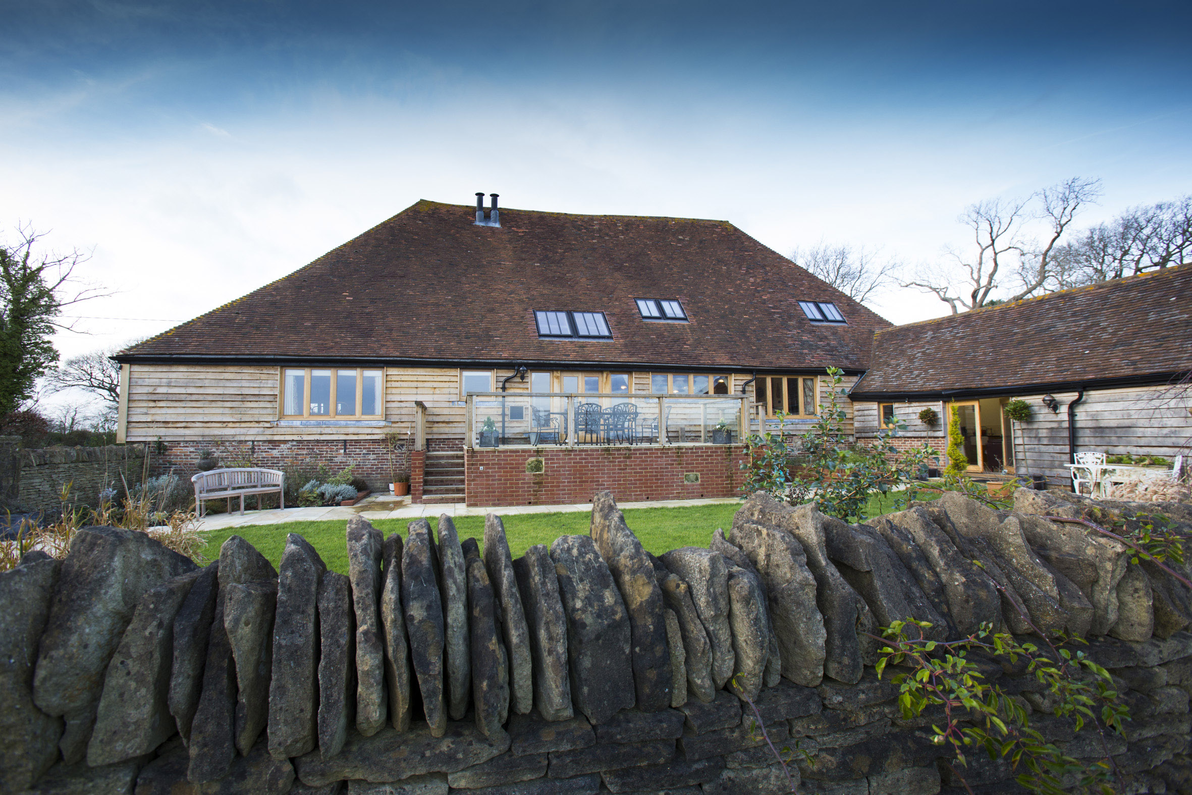 Iwood Barn, Rush Lake Green