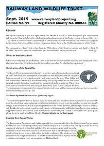 Railway Land Wildlife Trust Newsletter 99