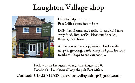 Laughton Village Shop - supporting the 2021 Villages Music Festival