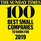 RocketMill are in the '2019 Sunday Times 100 Best Small Companies to Work For' list