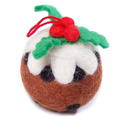 Felt Christmas Pudding