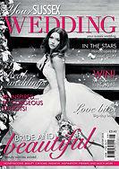Lydie Dalton Floral Design in Your Sussex Wedding magazine
