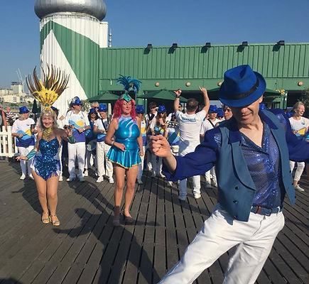 Lern to dance with Brighton School of Samba