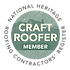 Richard Soan Roofing Services are members of the National Heritage Roofing Contractors Register