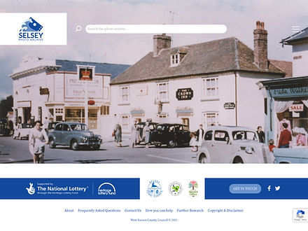 Selsey Photo Archive website