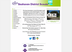 Seahaven Scouts website