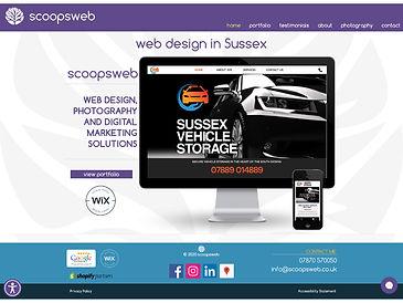 scoopsweb - web design