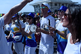 Learn to drum with Brighton School of Samba