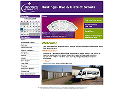 Hastings & Rye Scouts website
